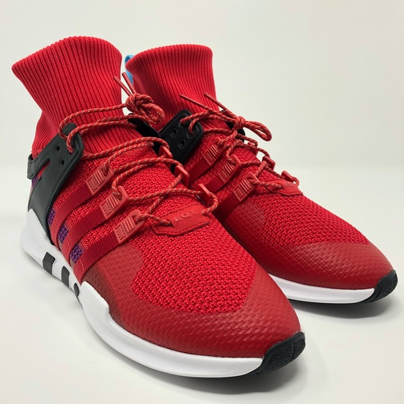new style 31fa2 237b2 Adidas EQT Support ADV Winter Scarlet